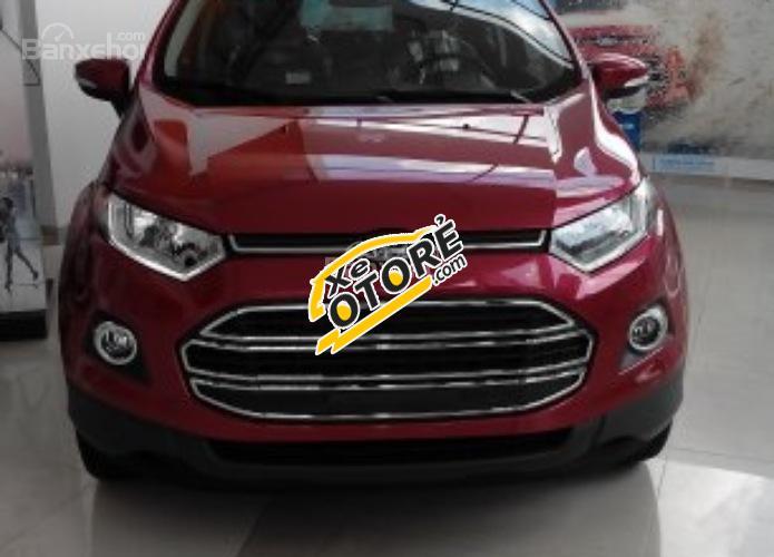 Bán ô tô Ford EcoSport Titanium model 2017, hỗ trợ trả góp 80%, lãi suất 0,7%/ tháng