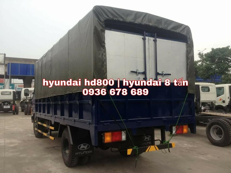 Xe tải Hyundai HD800, tải trọng 8 tấn, sản xuất 2017. LH: 0936678689
