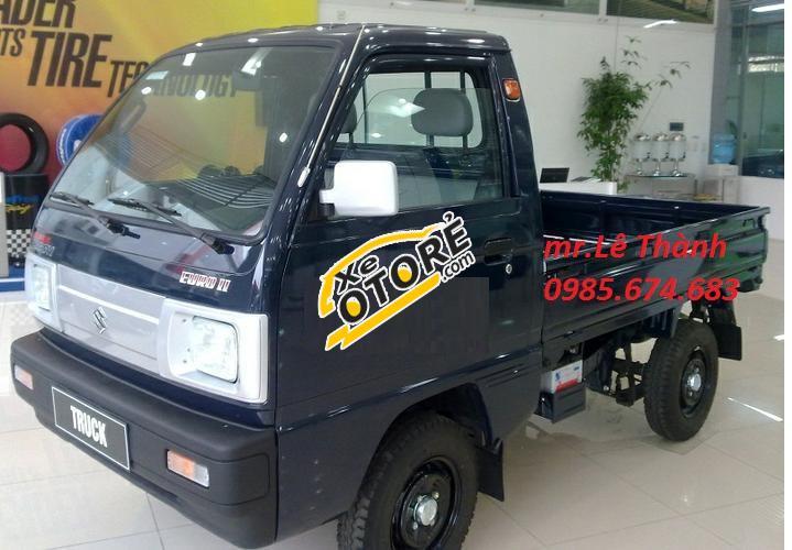 Bán xe tải Ben Suzuki - xe tải tự đổ Suzuki 5 tạ Super Carry Truck 2017