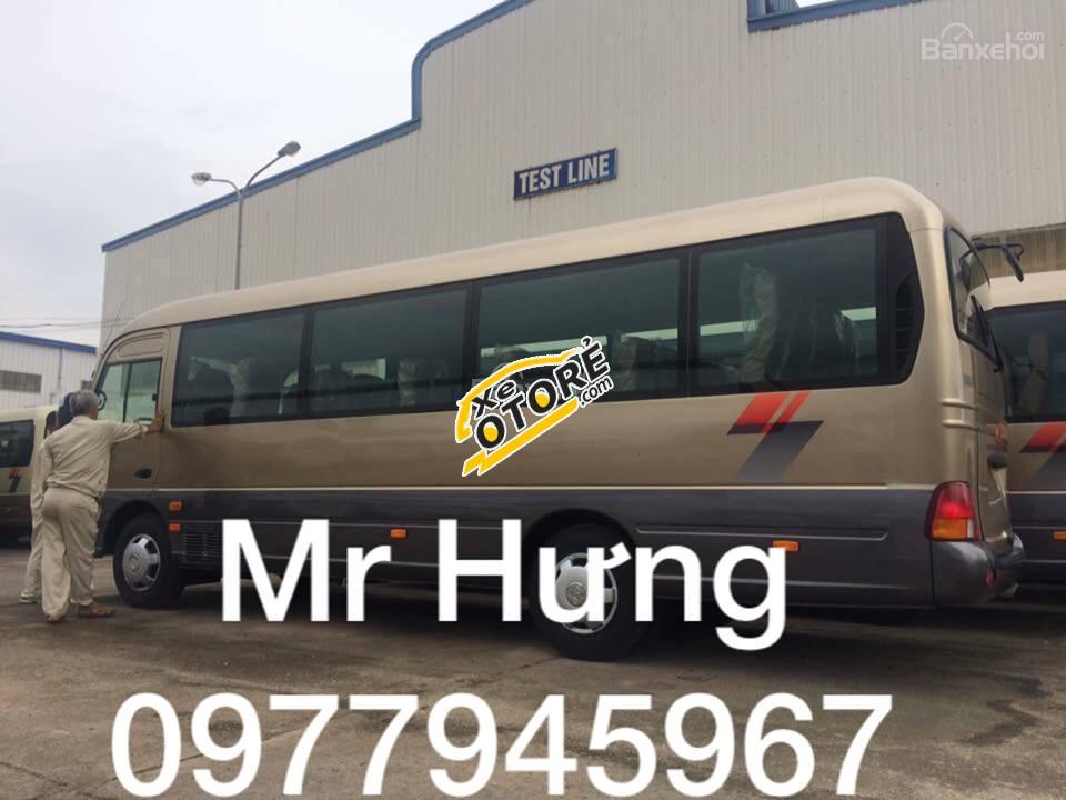 Chuyên bán Hyundai County Đồng Vàng, Model 2017