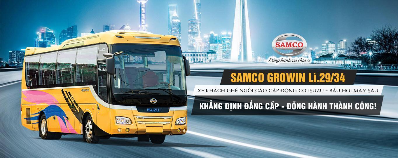 Xe khách Samco Growin Li 29/34 chỗ