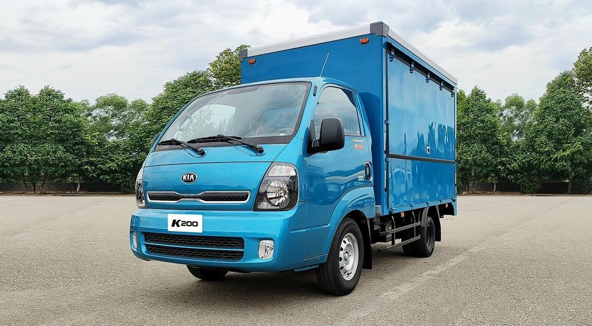 Cần bán Thaco Kia đời 2021, màu xanh lam