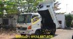 Bán xe ben Hino FC 5 tấn 6 tấn thùng ben 5 khối đời 2016