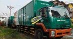 Bán xe tải Isuzu 15 tấn FVM34W thùng kín có bửng nâng hạ. Khuyến mãi 30 triệu bảo dưỡng miễn phí