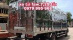 Xe tải GM FAW 7,25 tấn, thùng dài 6,3M, động cơ YC4E140. Giá tốt nhất