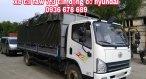 Bán xe tải Faw lắp động cơ Hyundai D4DB, tải trọng 7,3 tấn, cabin Isuzu hiện đại, giá tốt-K/M khủng