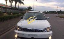 Cần bán lại xe Ford Laser năm 2002 màu trắng, 225tr