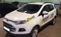 Bán xe cũ Ford EcoSport Trend đời 2015, màu trắng như mới