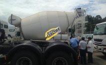 Bán xe bồn trộn Fuso nhập khẩu thể tích bồn 5 khối tải trọng 17 tấn