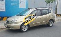 Cần bán xe Chevrolet Vivant 2.0 đời 2008, màu vàng số sàn
