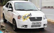 Cần bán lại xe Daewoo Gentra SX sản xuất 2006, màu trắng