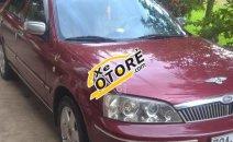 Cần bán lại xe Ford Laser ghia 1.8 đời 2003, màu đỏ