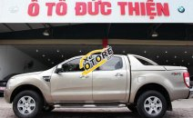 Bán xe Ford Ranger XLT 4x4MT sx 2013, 2 cầu, màu ghi vàng