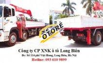 Bán xe tải 5 chân gắn cẩu tự hành 7 tấn, 8-10 tấn, 12-15 tấn Soosan, Tanado, Kanglim, Unic, Atom 2016, 2017