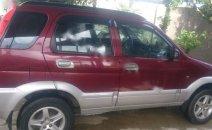Bán ô tô Daihatsu Terios 4x4MT 2007, màu đỏ, 310 triệu