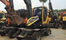 Máy xúc đào bánh lốp Volvo EW55B nhập khẩu Hàn Quốc