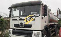 Cần bán xe chở xăng dầu 17m3- Dongfeng, máy 260 HP, cabin vuông, kiểu dáng mới
