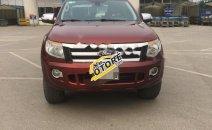 Cần bán xe Ford Ranger XLT đời 2013, màu đỏ, nhập khẩu chính hãng số sàn, giá chỉ 530 triệu