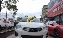 Bán xe Mitsubishi Airtek 1.2CVT đời 2017, màu trắng, xe nhập, giá chỉ 481 triệu