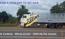Bán xe tải thùng Kamaz 65117 mới 2016 tại Kamaz Bình Dương & Bình Phước