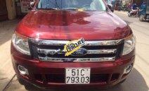Bán ô tô Ford Ranger XLT 4X4 đời 2014, màu đỏ, nhập khẩu nguyên chiếc, 575tr