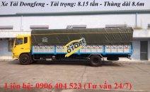 Xe tải Dongfeng 8 tấn, thùng dài 9 mét, đời mới nhất