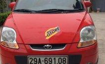 Bán xe Daewoo Matiz sx đời 2009, màu đỏ, xe nhập