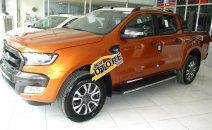 Bán Ford Ranger Wildtrak 3.2l AT 4x4 màu cam, giao xe ngay