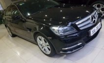 Bán xe Mercedes C200 năm 2011, màu đen, xe nhập, giá chỉ 690 triệu