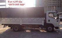 Faw 6,95 tấn / tải nặng / thùng gọn / cabin đẹp