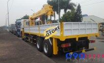 Bán xe tải Dongfeng 4 Chân – 17T5 – Cẩu Soosan SCS1015LS – 10 Tấn