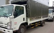 Bán xe tải isuzu , thông số kỹ thuật xe tải isuzu 8T2 thùng bạt 7 bửng