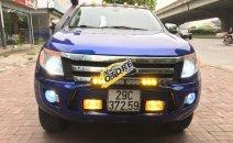 Bán xe Ford Ranger XLT 4x4 đời 2014, màu xanh lam, giá tốt