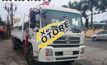 Bán xe tải Dongfeng gắn cẩu tự hành 5 tấn, năm 2018