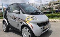 Bán xe Smart 2005 2 cửa 2 chỗ màu bạc, xe số tự động nhỏ ngọn nội thất đẹp, nệm da