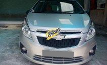 Cần bán gấp Chevrolet Spark 2014 số sàn, màu ghi bạc, xe chạy rất êm