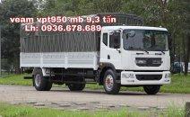 Xe tải Veam VPT950 9.5 tấn, thùng 7.6m, máy Cumins 180PS, giá rẻ