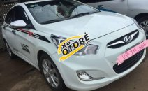 Bán Hyundai Accent AT năm sản xuất 2012, màu trắng, xe nhập