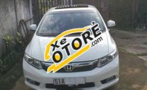 Cần bán Honda Civic 2.0 AT năm sản xuất 2012, màu trắng, giá 540tr