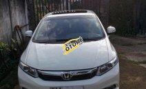 Cần bán lại xe Honda Civic 2.0 AT đời 2012, màu trắng, giá tốt