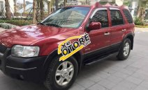 Bán xe Ford Escape XLT sản xuất 2003, màu đỏ