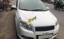 Bán Chevrolet Aveo LT màu trắng 2015, số sàn, xe đẹp không chỗ chê