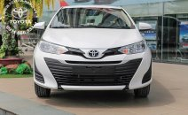 Cần bán Toyota Vios 1.5E 2020, màu trắng, giao ngay, trả góp 85%, lãi suất cố định 1,99%, KM hấp dẫn