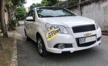 Em bán Chevrolet Aveo 2015 số sàn, màu trắng cọp