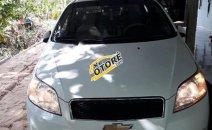 Cần bán Chevrolet Aveo LT 2015, màu trắng số sàn