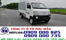 Xe tải Dongben 810kg thùng mui bạt, nhập khẩu, đời mới|Mua bán xe tải mới
