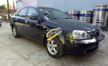Cần bán lại xe Daewoo Lacetti EX năm 2005, màu đen