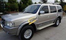 Cần bán xe Ford Everest 2006 máy dầu, số sàn, màu xám ghi