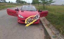 Cần bán gấp Peugeot 206 sản xuất 2006, màu đỏ, nhập khẩu