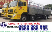 Giá xe tải Dongfeng 4 chân, xe tải thùng Dongfeng Hoàng Huy YC310